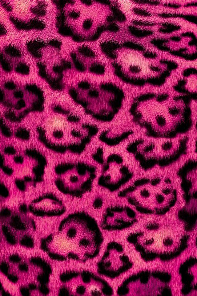 Pink and brown cheetah wallpaper - photo#7