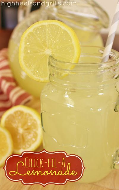 High Heels & Grills: Chick-Fil-A Lemonade