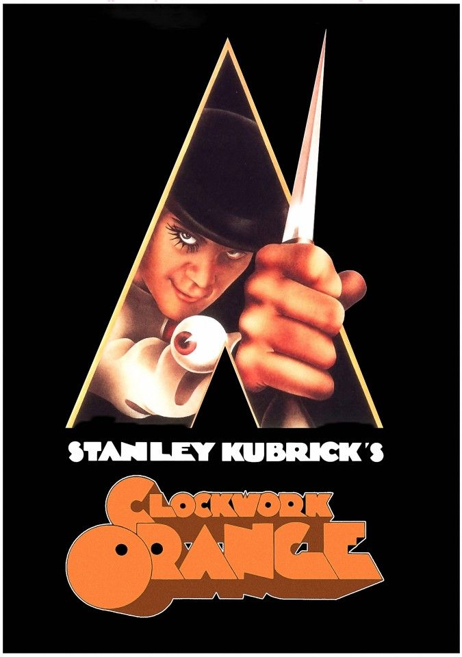 Постер A Clockwork Orange - Заводной апельсин