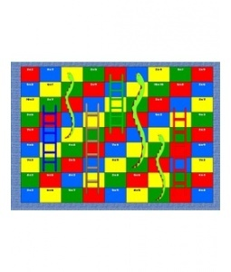 Snake multiplication board game / multiplicacion juego de mesa
