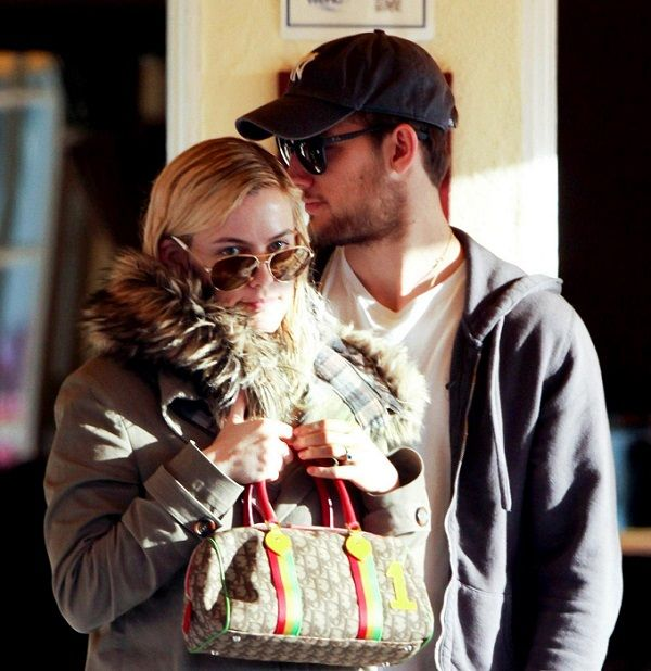English actor, Alex Pettyfer with his partner Riley Keough