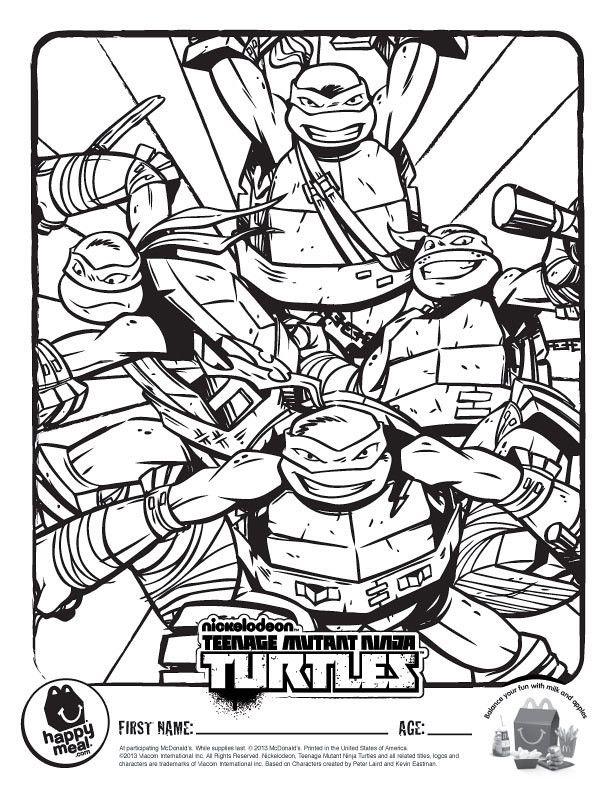 Leonardo Teenage Mutant Ninja Turtle Coloring Page Youngandtae Com In 2020 Ninja Turtle Coloring Pages Turtle Coloring Pages Ninja Turtles