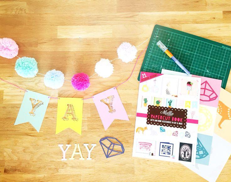 Papercraft with Mollie Makes #fantasticcraftyfox