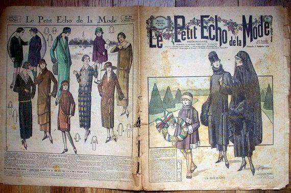 Le Petit Echo de la Mode November 2 1924 by aubonheurdesdames