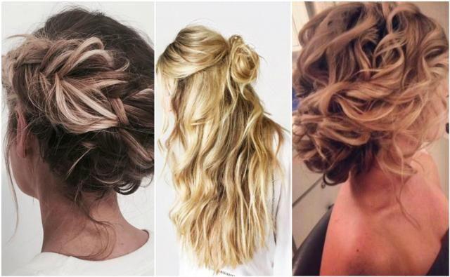 Propozycje na luźne upięcia kręconych włosów #luźne #upięcia #włosy #fryzury