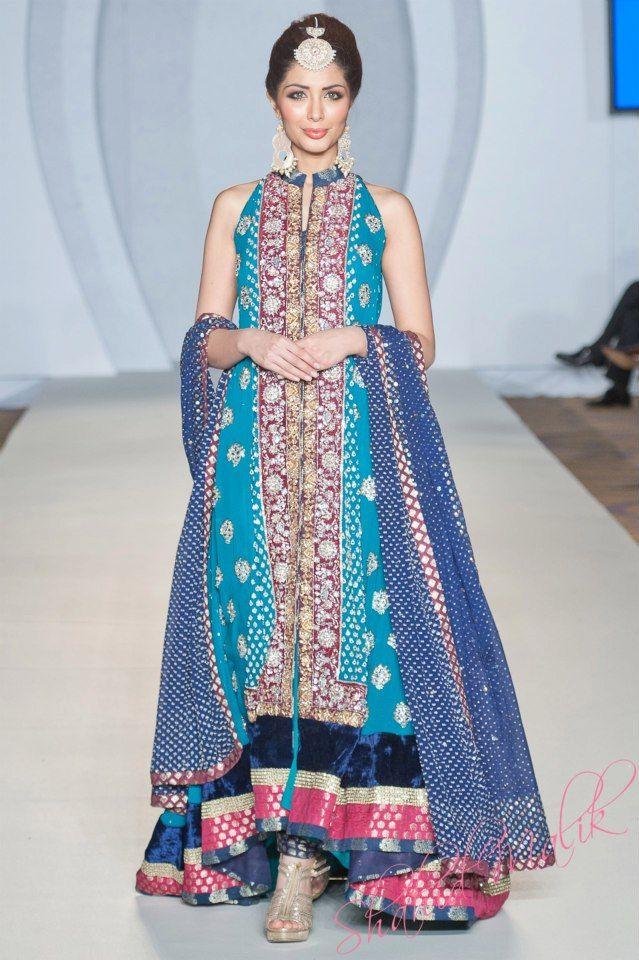 Zainab Chottani Collection, Pakistani Bridal Couture Week