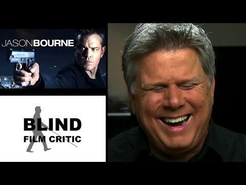 Check out the BLIND FILM CRITIC's review of the JASON BOURNE movie review! Tommy Edison is witty and entertaining as always! (No spoilers!)