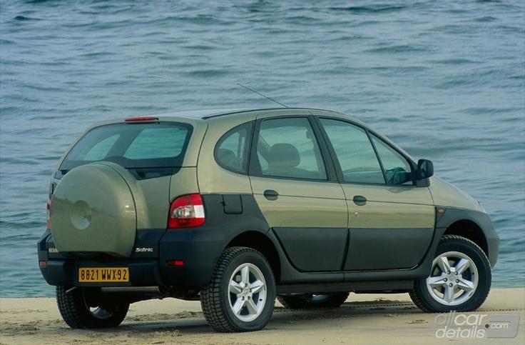 Renault Scénic RX4 2.0 16V - nog steeds een zwak voor dit leuke bakkie, maar 2 jaar gemaakt (2000-2001)