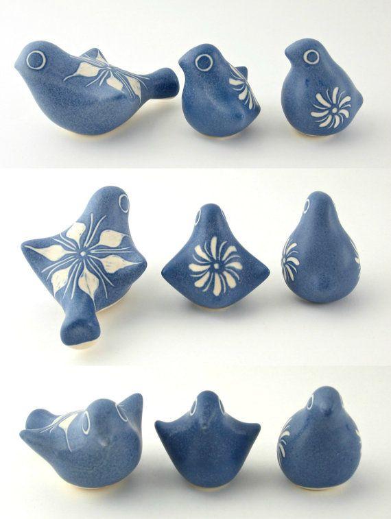 Vintage Modern Strawberry Hill Pottery Trio of by WestCoastModern, $125.00