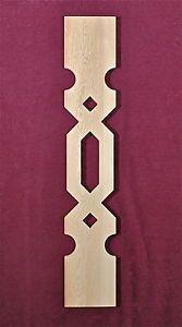 Baluster Sawn Porch Rail Gingerbread Victorian Corbel Handrail Wood Architecture | eBay