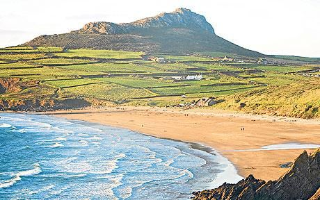 Wales; White Sands Bay near St. David's #gbravel http://www.europealacarte.co.uk/blog/2013/04/18/gbtravel-hashtag-great-britain-travel-tweets/