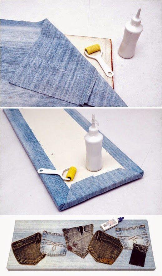 4 τρόποι για να αξιοποιήσετε τα παλιά σας jeans | Φτιάξτο μόνος σου - Κατασκευές DIY - Do it yourself