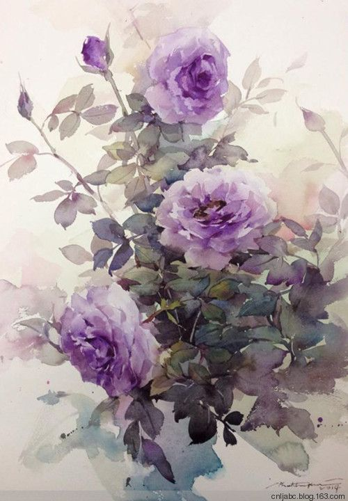 Watercolor by Phatcharaphan Chanthep                                                                                                                                                                                 More