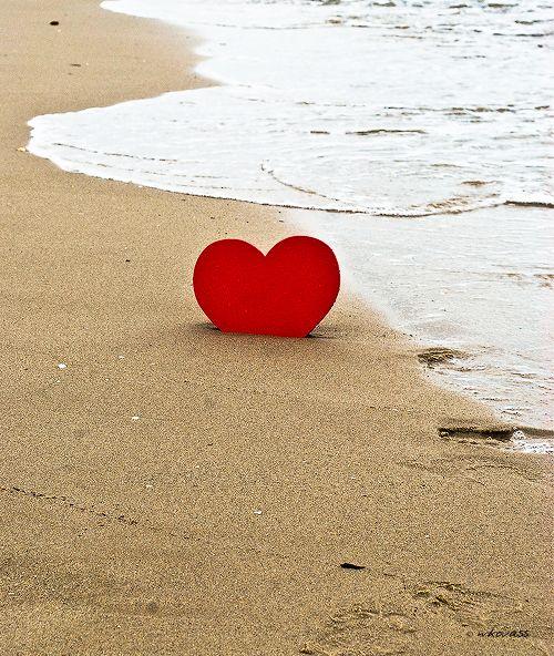 Heart at sea