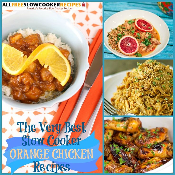 10 Easy Orange Chicken Recipes You Can Slow Cook | AllFreeSlowCookerRecipes.com