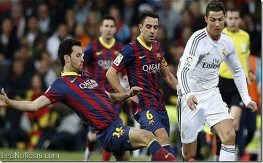 Real Madrid vs Barça: el clásico español en cifras - http://www.leanoticias.com/2014/10/24/real-madrid-vs-barca-el-clasico-espanol-en-cifras/