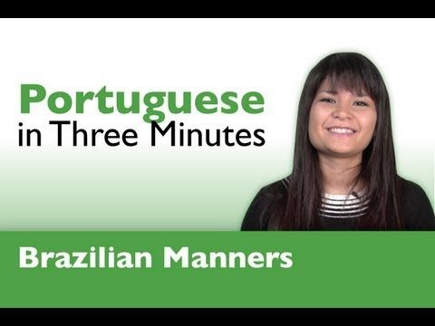 Learn Portuguese - Thank You & You're Welcome in Portuguese. #Brazil #Brazilian Learn Portuguese with PortuguesePod101.com