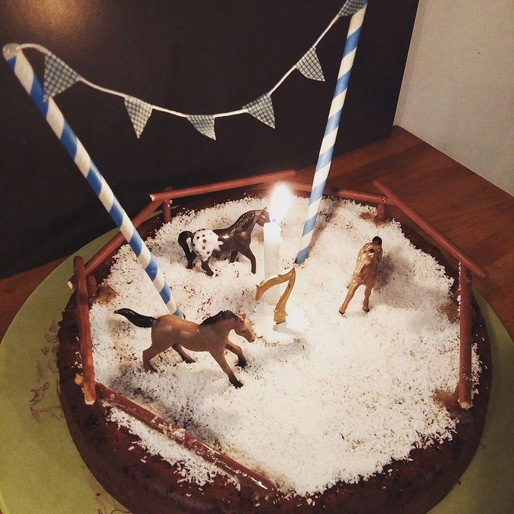 Les 25 meilleures id es de la cat gorie g teau cheval sur pinterest g teaux d 39 anniversaire de - Decoration gateau cheval ...