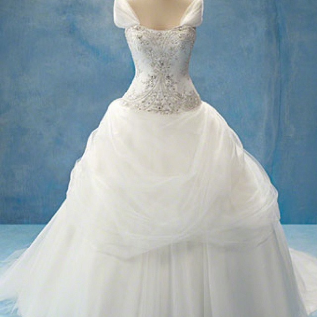 Pinterest for Disney style wedding dresses