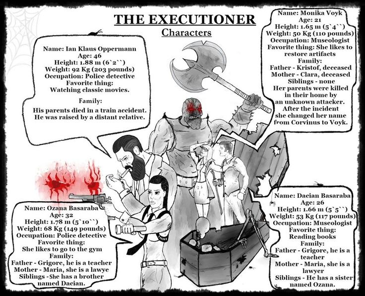 The Executioner - Characters by vioviorel.deviantart.com on @DeviantArt
