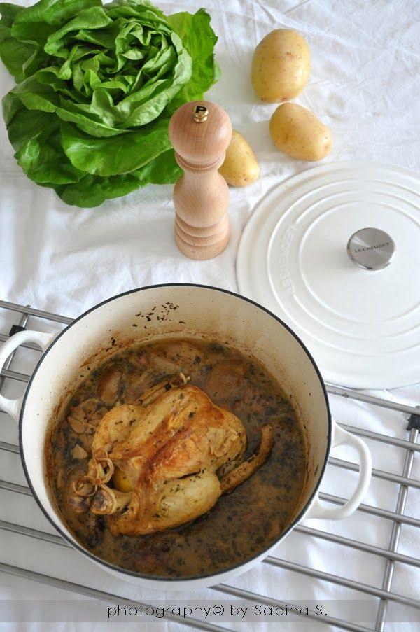 Pollo all'aglio e limone