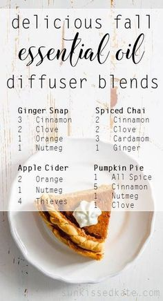I like to get my home in the fall spirit with a little bit of decorating and of course, diffusing my essential oils. It's like bringing fall home, and I can run my diffuser all day without worrying that I'm polluting my home with artificial fragrances and