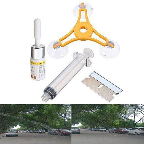 AUDEW 1 Set Kit de Réparation Outils de Pare-brise Glass Bonnette Instrument WRK1500808A: Description: Nom: voiture outil de pare-brise de…