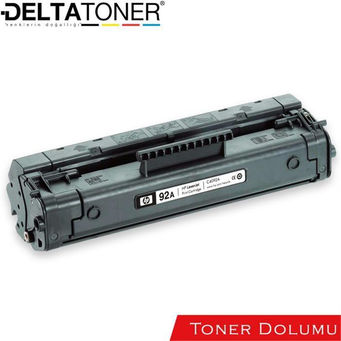 Hp 92A Toner Dolum