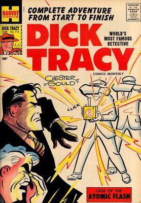 Comic Dick Harvey Tracy