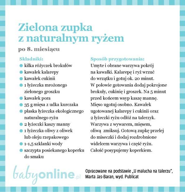 Przepisy dla niemowlaka - Zupki dla niemowlaka | Strona 16 | Baby online