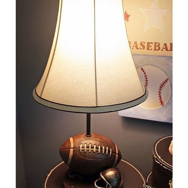 6 American Football Themed Lamps in Honor of Super Bowl - 25 Best Sports Lamps Images On Pinterest Kids Sports, Room Store