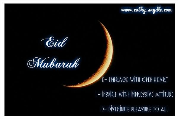 Eid Mubarak to all our Muslim family and friends around the world, may the blessings of Allah be with you today, tomorrow, and always.  EID MUBARAK