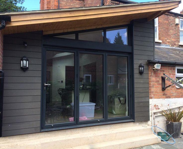 Another successful Installation at a home in West Bridgeford. Bifold Door - Smarts Visofold 1000 & 38 best images about Klarheit Aluminium Windows u0026 Doors Nottingham ... pezcame.com