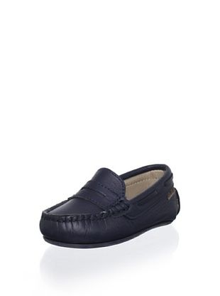 61% OFF W.A.G. Kid's Penny Moccasin (Navy)