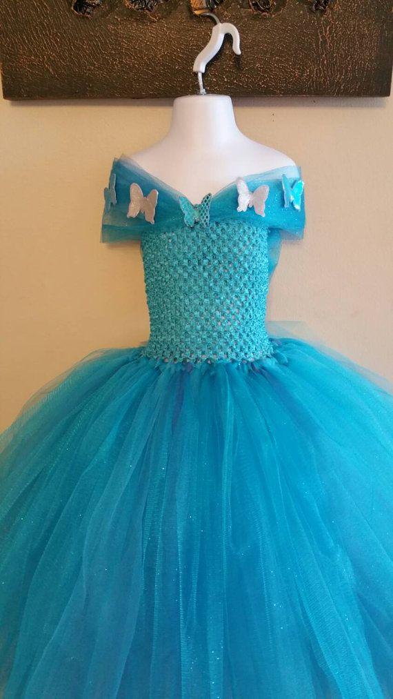 Cinderella tutu dress new movie/ new by Divastutusboutique on Etsy