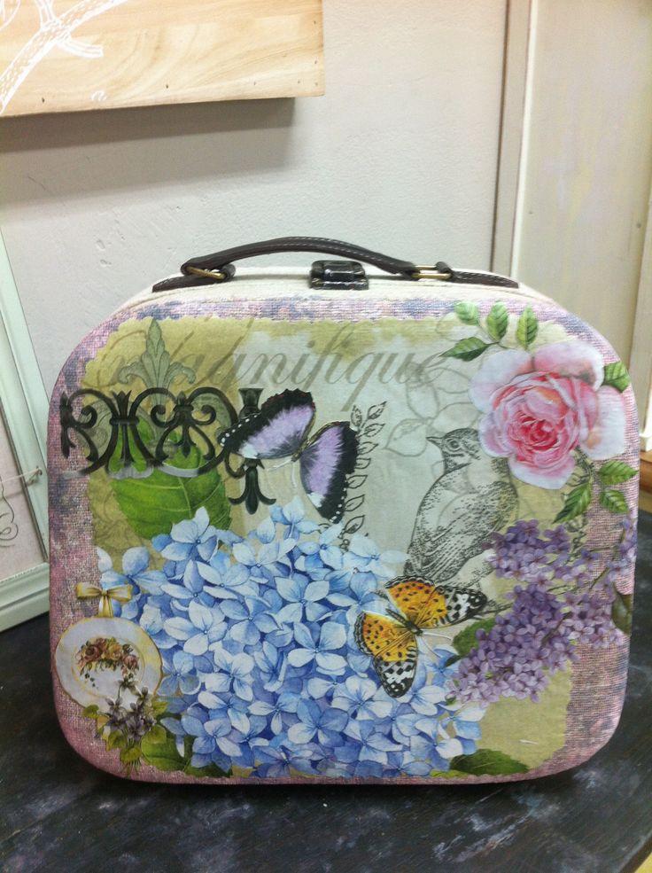 Decoupage bag
