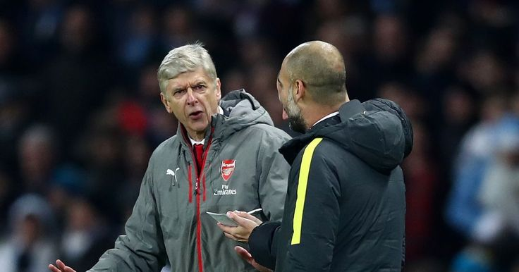 Arsenal play direct Pep Guardiola claims