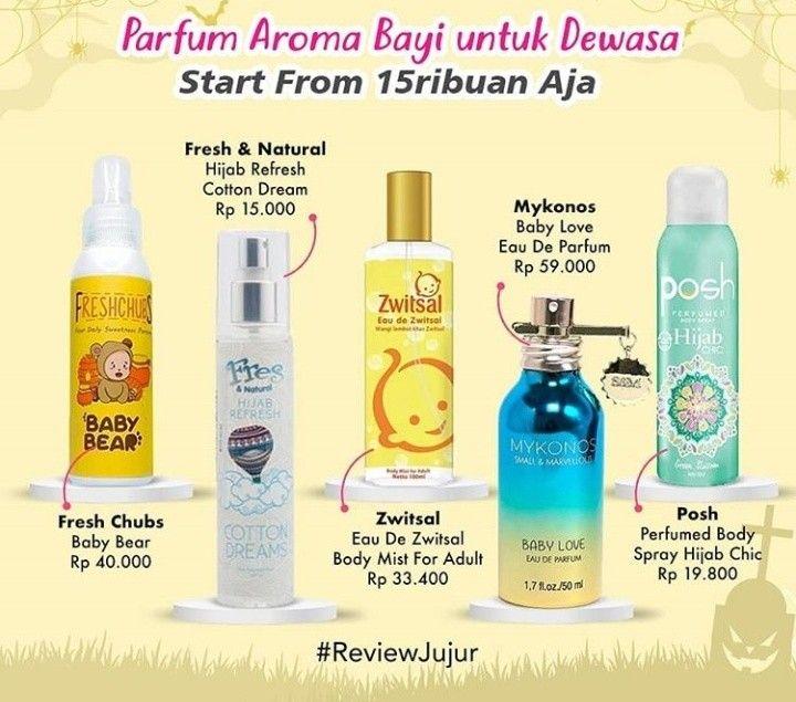 Rekomendasi Parfum Bayi Untuk Dewasa Mulai Rp 15 000 Wewangian Perawatan Kulit Produk Perawatan Kulit