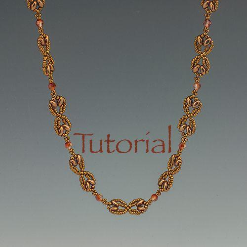 Necklace Pattern: Nouveau SuperDuo Chain