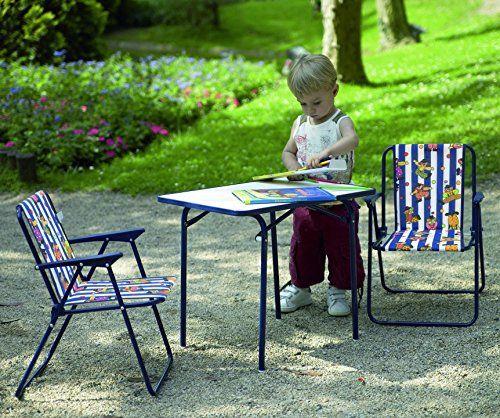 Amazon De Best 35500020 Kinder Camping Tisch 60 X 40 Cm Blau Tisch Und Stuhle Camping Tisch Stuhle