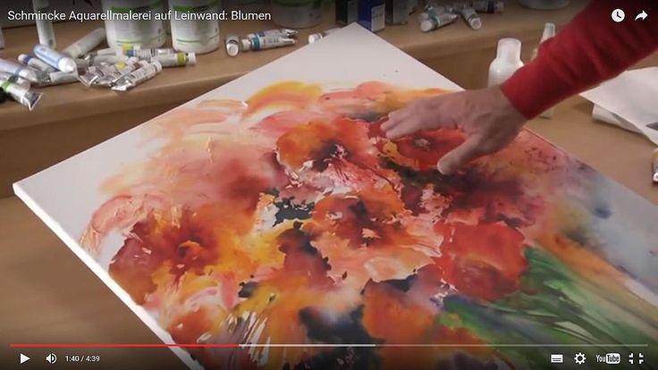 schmincke watercolors   Malen/Zeichnen lernen » Malen lernen: Aquarellmalerei » Aquarell auf ...