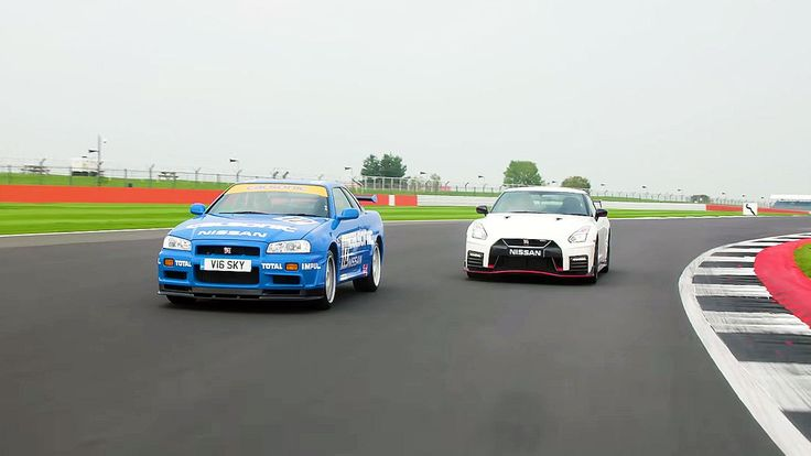 R34 Skyline GT-R Vs 2018 GT-R Nismo: Old Vs New Drag Race  We had the rare chance to line up the legendary R34 GT-R against the new GT-R Nismo to see how much progress has been