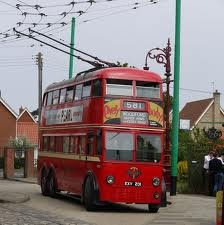 trolly bus