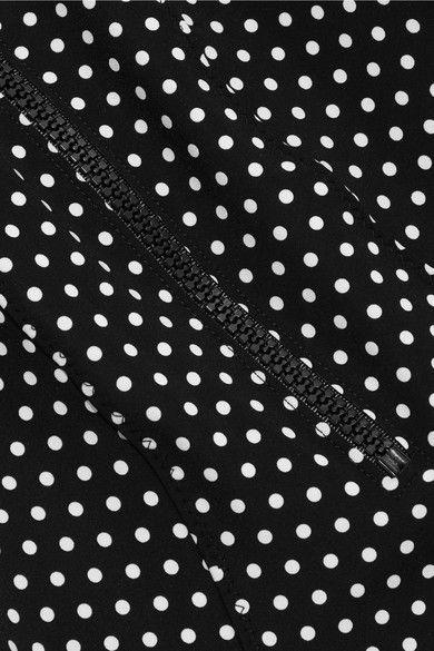 Lisa Marie Fernandez - Jasmine Polka-dot Bonded Swimsuit - Black - 3