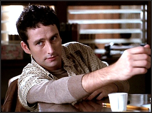 Glenn Quinn. He was one of the few celebs that I actually wrote a fan letter to, back in the day. This Irish lad is very much missed. He left too soon. #Angel #Doyle #ATS #90s