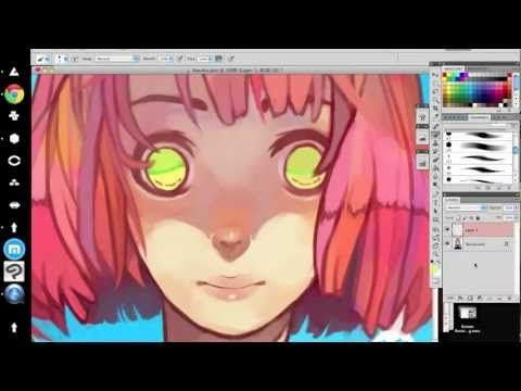 Digital Painting Tutorial/Speedpaint - YouTube ✤ || CHARACTER DESIGN REFERENCES | キャラクターデザイン | çizgi film • Find more at https://www.facebook.com/CharacterDesignReferences & http://www.pinterest.com/characterdesigh if you're looking for: #color #theory #contrast #animation #how #to #draw #paint #drawing #tutorial #lesson #balance #sketch #colors #digital #painting #process #line #art #tips || ✤