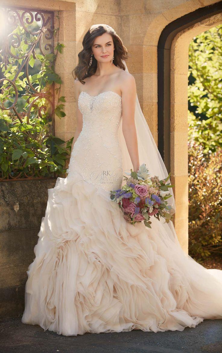 91 best bridal gown images on Pinterest   Wedding dressses, Marriage ...