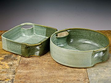 Stoneware Casserole Dishes | Pottery and Glass | Shaker Workshops