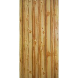 47.9687-In X 7.997-Ft Smooth Western Vista New Cut Cedar Mdf Wall Panel 144196