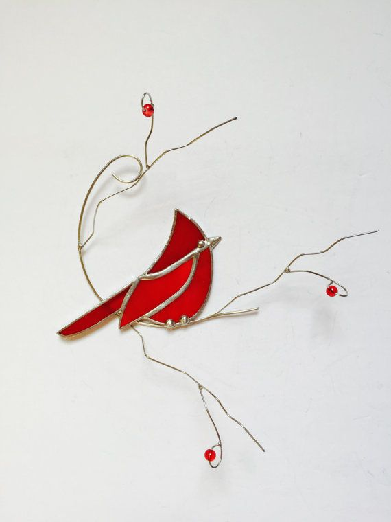Best 25 stained glass cardinal ideas on pinterest for Fenetre a cardinal